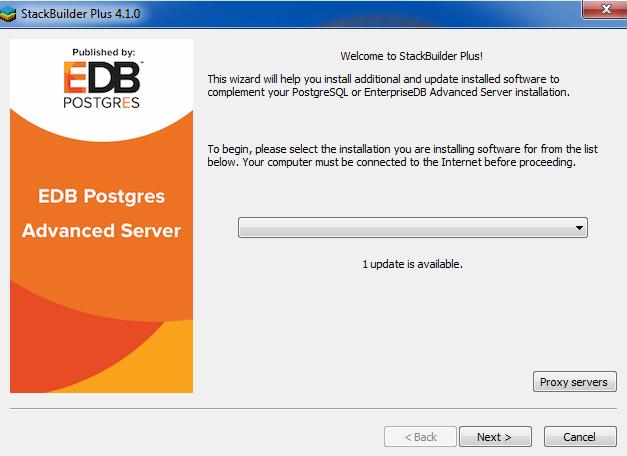 EDB Postgres™ Advanced Server Installation Guide for Windows